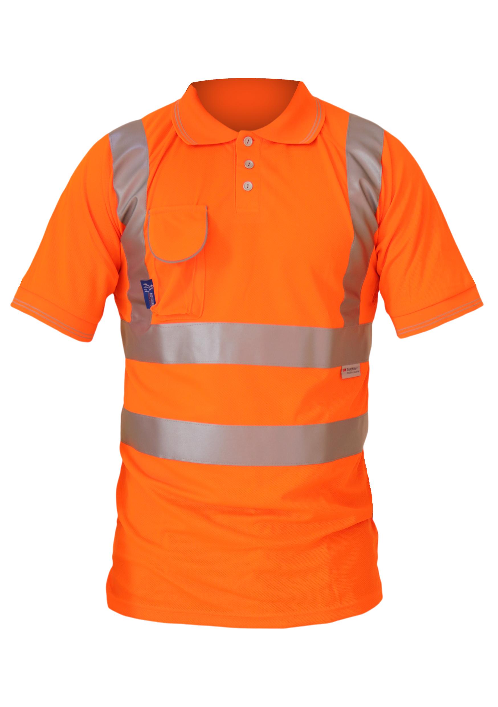 bodyguard-Polo-Shirts-Hi-Vis-Rail-S/S-Polo-Shirt