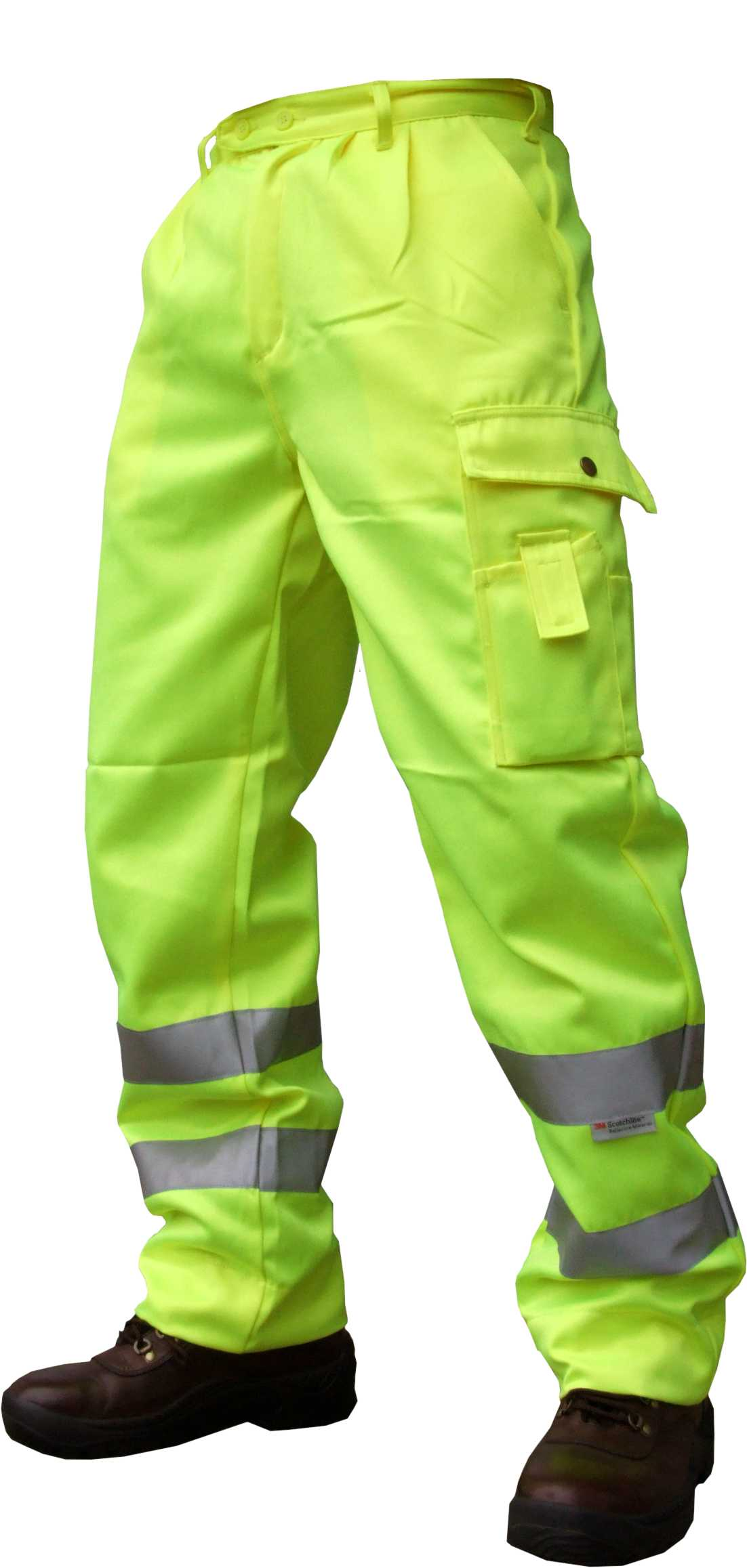 bodyguard-Trousers-High-Vis-Yellow-Cargo-Trousers