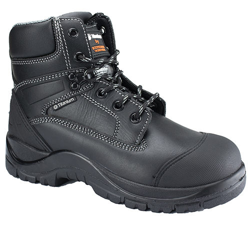c284a9cd1ae Titanium Leather Safety Boots w  Thinsulate insulation throughout