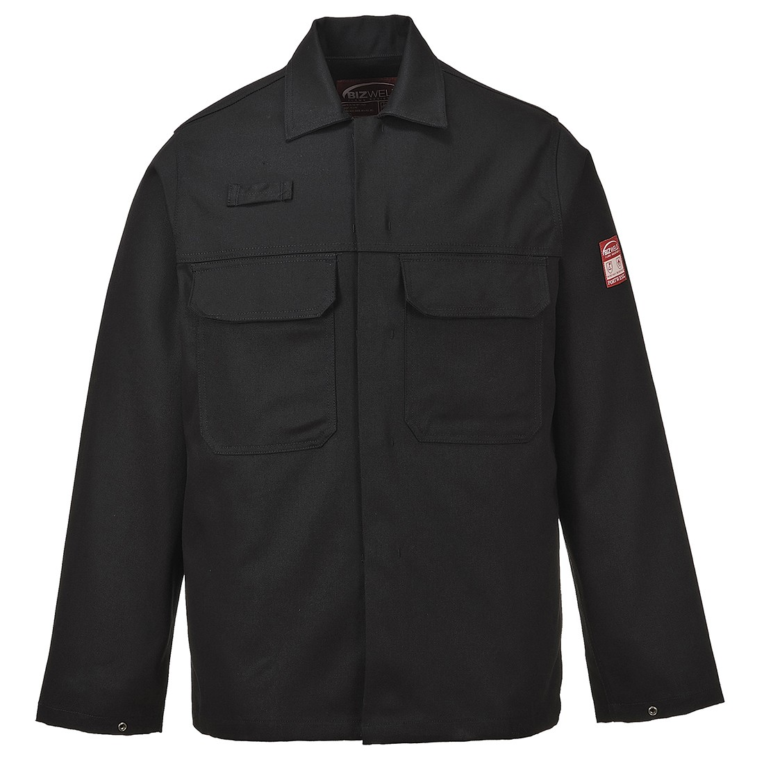 Bizweld Jacket w/ Radio loop, Stud adjustable cuffs & phone pocket