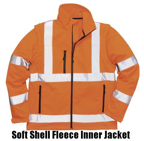 Multi Way Bodyguard Rail Coat Removable hood & Fleece lined collar
