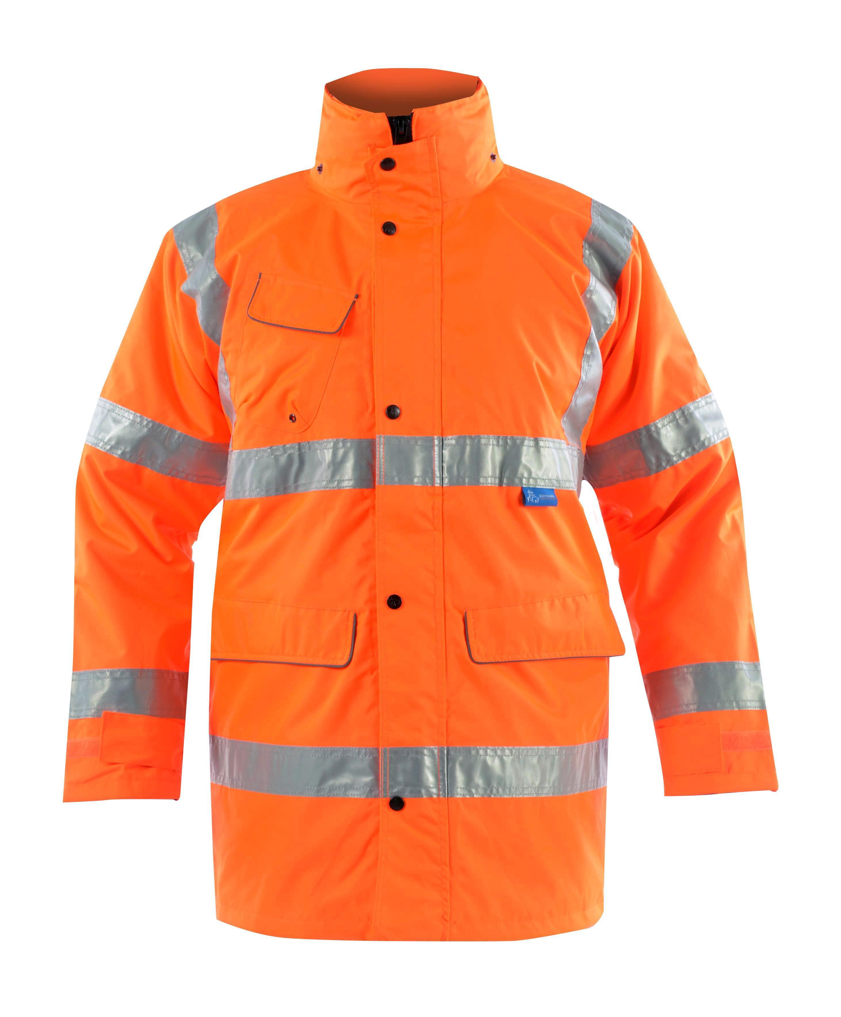 GN115 Multi Way Rail Coat w/ Removable hood & Fleece lined collar