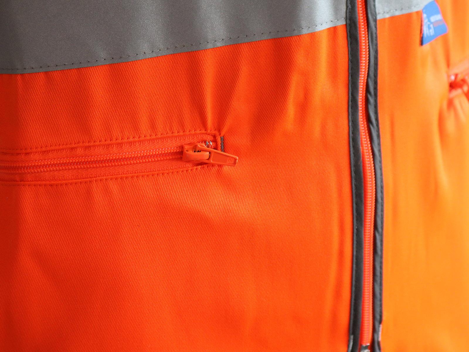 GN200RT - Premium Rail Vest w/ Quick release press studs & Zipped front  -3