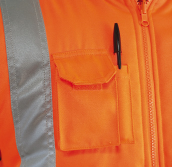 GN210RV – Rail Cargo Bodywarmer w/ Thermal insulation & Twin needle stitching  - 1