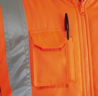 GN210RV – Rail Cargo Bodywarmer w/ Thermal insulation & Twin needle stitching  - 1