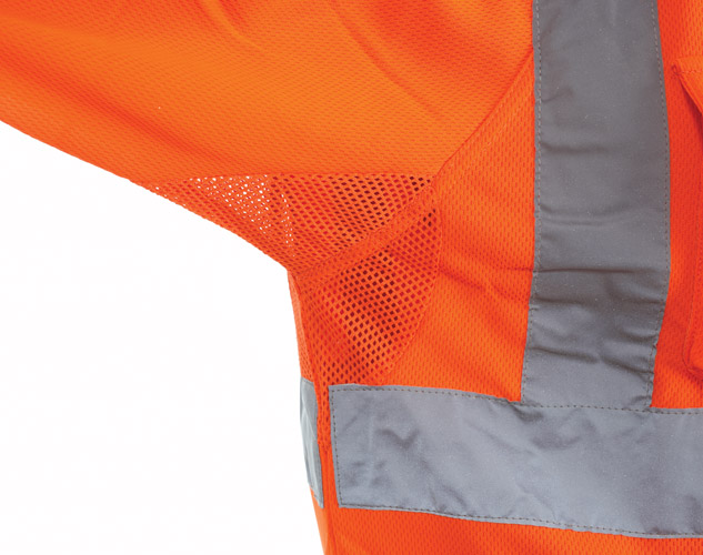 GN650 – Rail S/S Polo Shirt - Special birdeye breathable fabric & Under arm ventilation  - 1