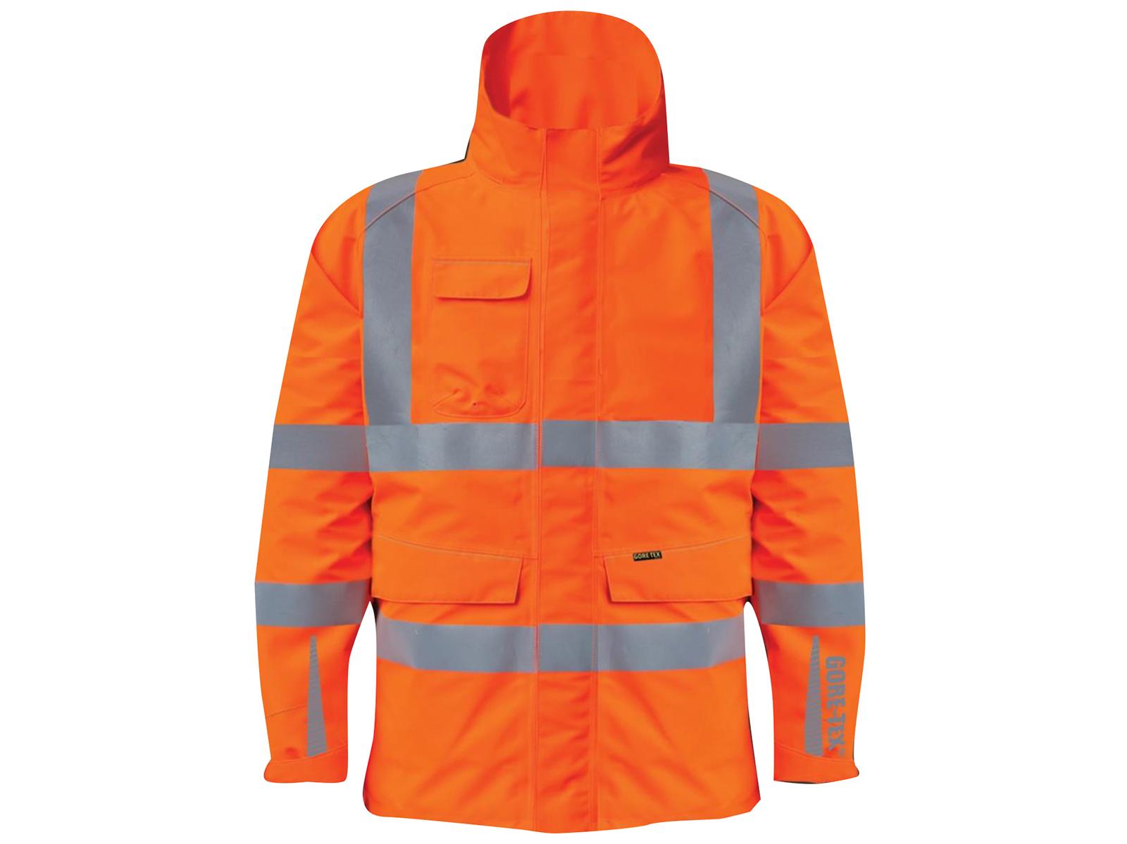 GN900 – GORE-TEX Rail Coat w/ Contoured neckline collar & Internal storm cuffs