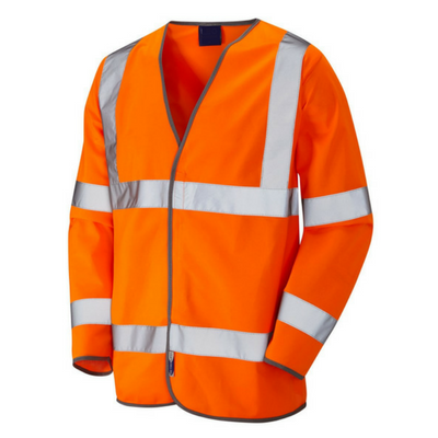 bodyguard-Vests-Long-Sleeve-Orange-Hi-Vis-Vest