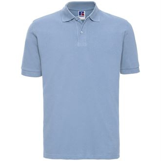 Classic Cotton Pique Polo Shirt w/ Neck tape for wearer comfort