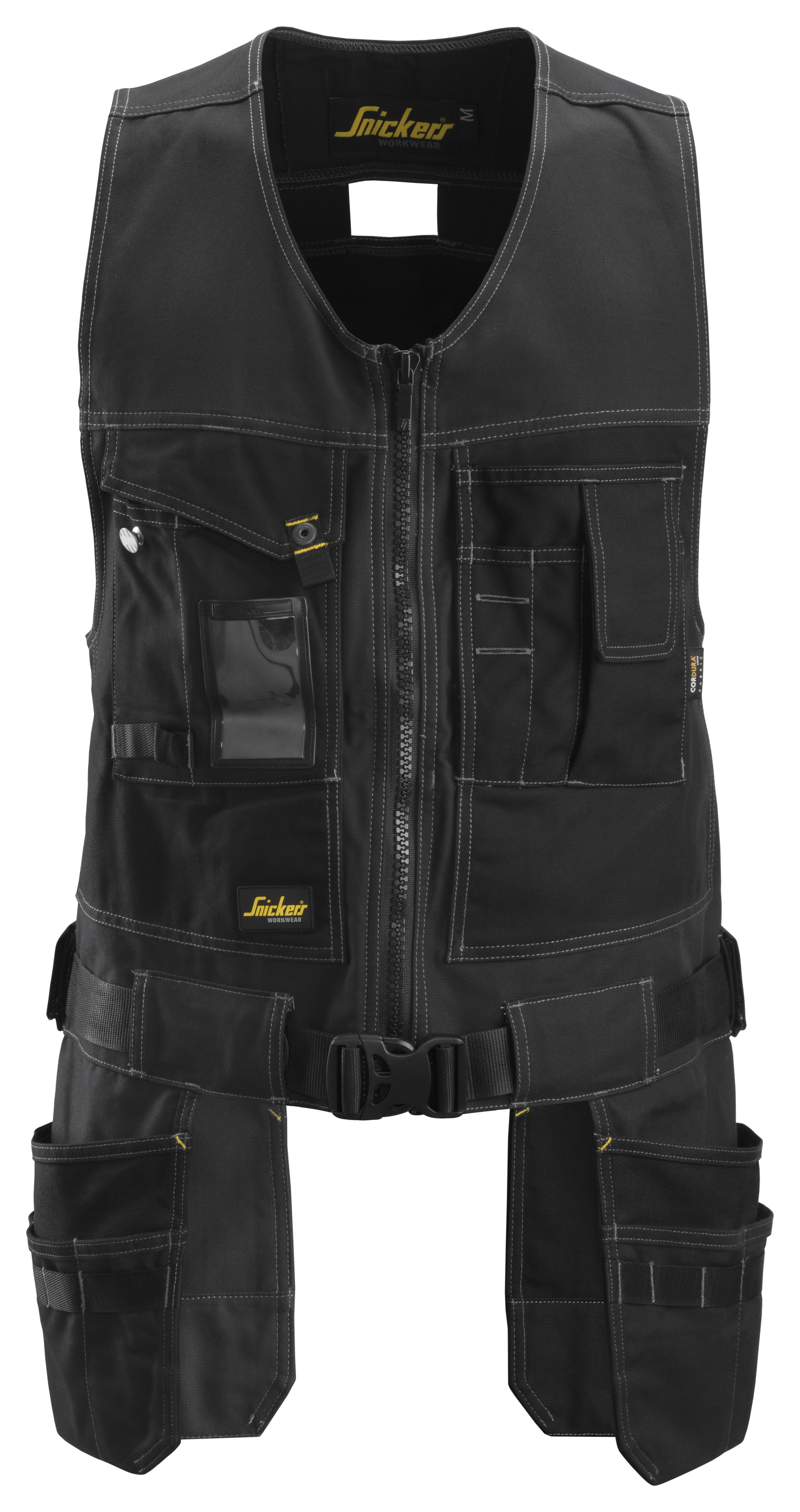 SNICKERS CANVAS + FLEXI TOOLVEST w/ front holster pockets