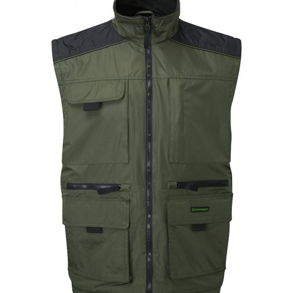 Lincoln Bodywarmer w/ Fleece lining & Multi-pocketes