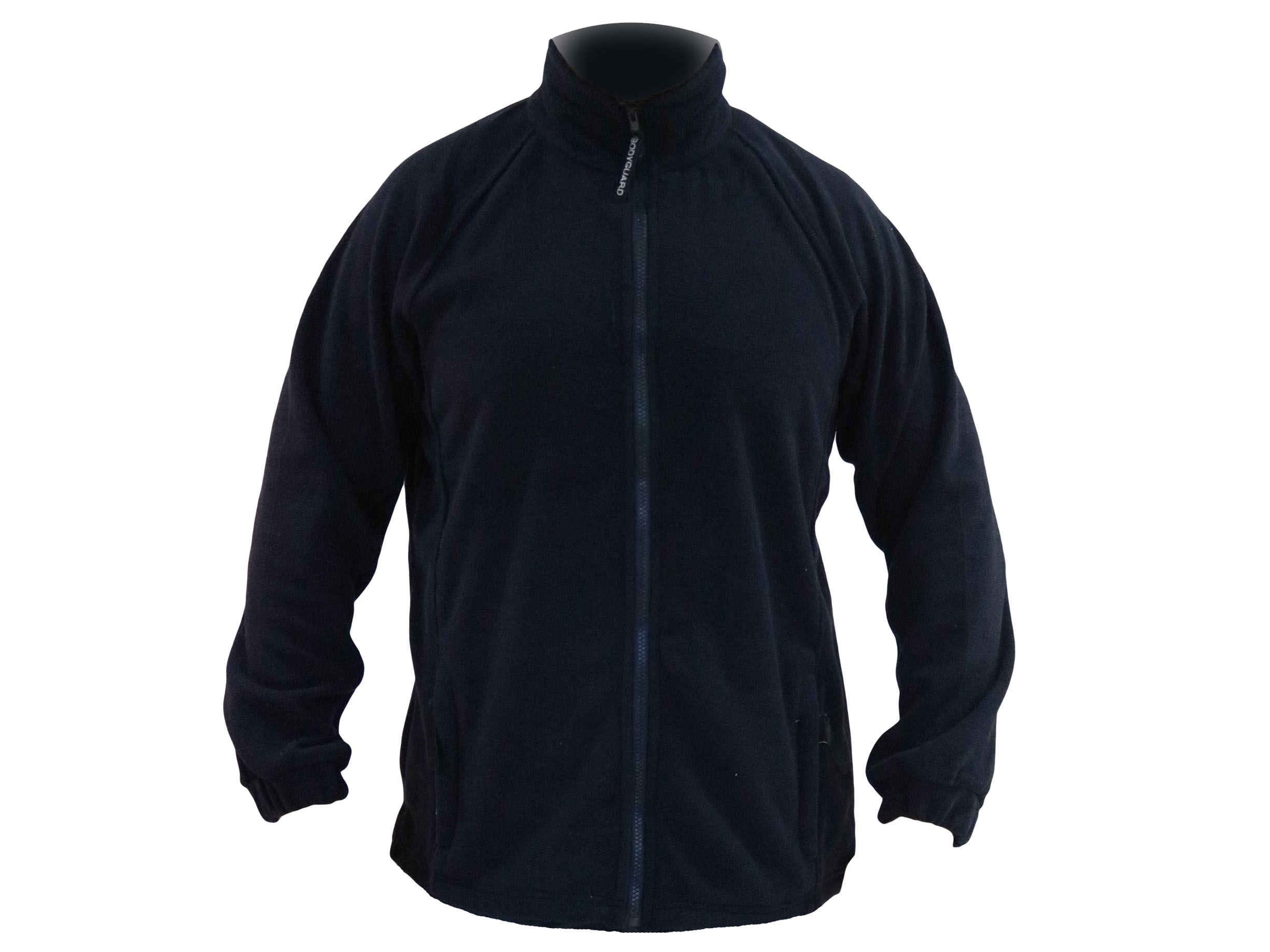 Bodyguard midweight fleece w/ full zip, Drawcord and toggles at hem -1