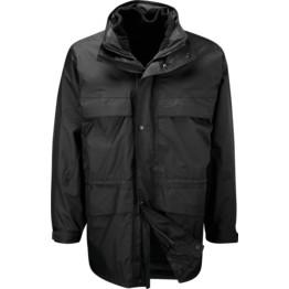 Antarctica Waterproof Jacket w/  detachable 300gsm fleece & Storm flap