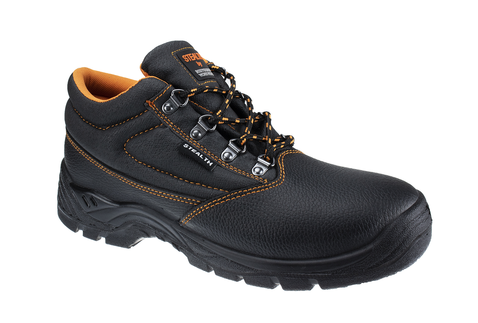 Bodyguard Stealth Leather Safety Boot