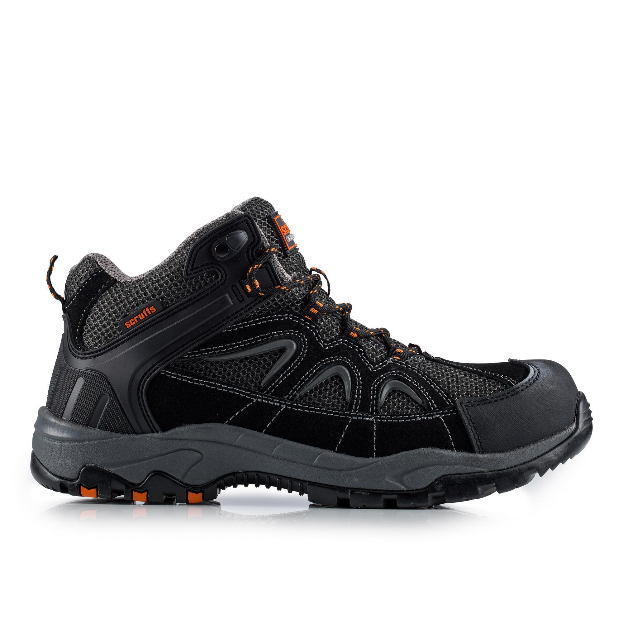 SCRUFFS SOAR HIKER Safety BOOT w/ • Padded tongue and ankle collar