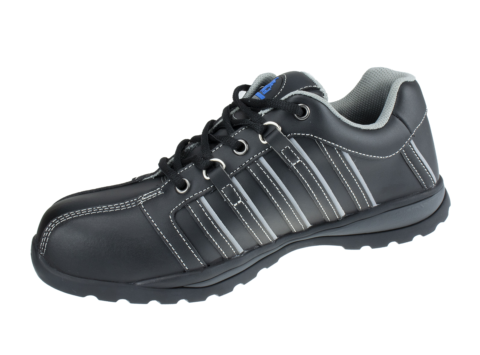 Speedster Leather Safety Trainer w/Toe Protection & Heel energy absorption - side
