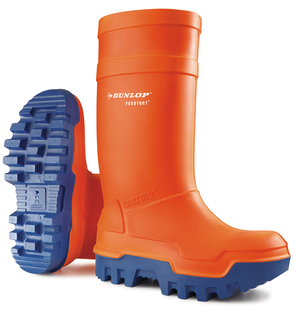Dunlop Purofort Thermo+ WELLINGTON w/ Steel toe cap & Mid-sole protection