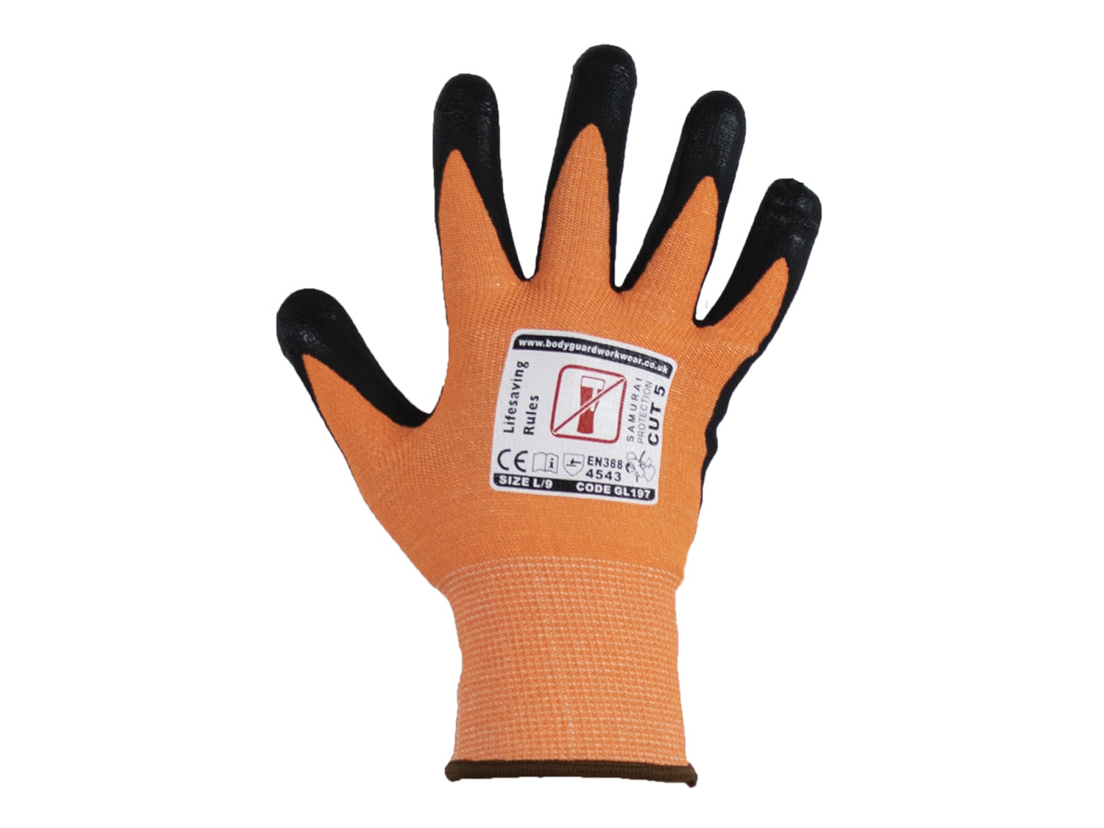 Samurai Lite Cut 5 Safety Glove w/ Touch Screen Technology - Multipack