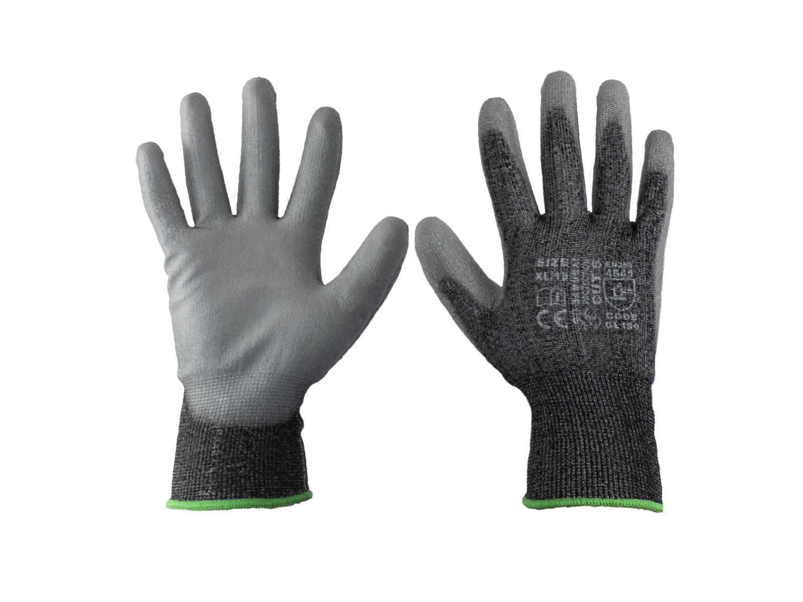 Samurai Cut5 Safety Gloves w/ high dexterity for dry applications -12 Pairs / Pack
