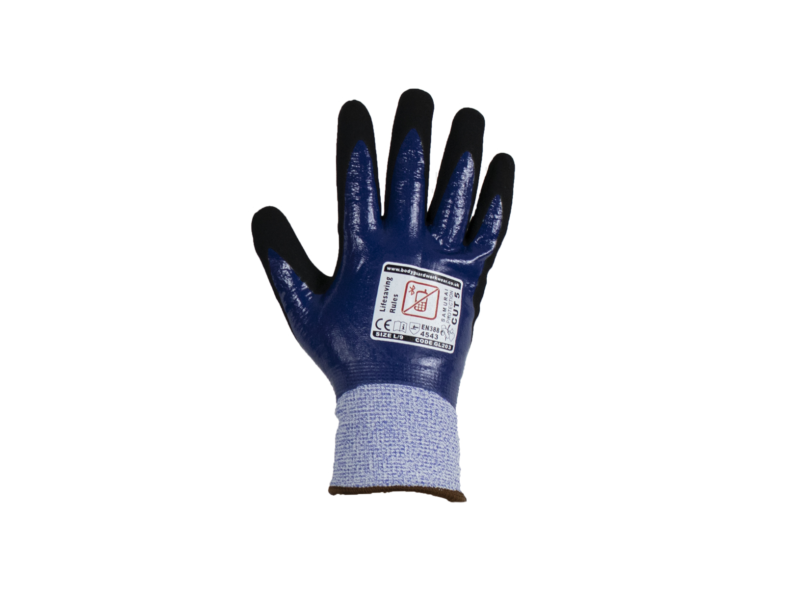 Samurai Thermo Wet Cut 5 Safety glove w/ Fleece Liner