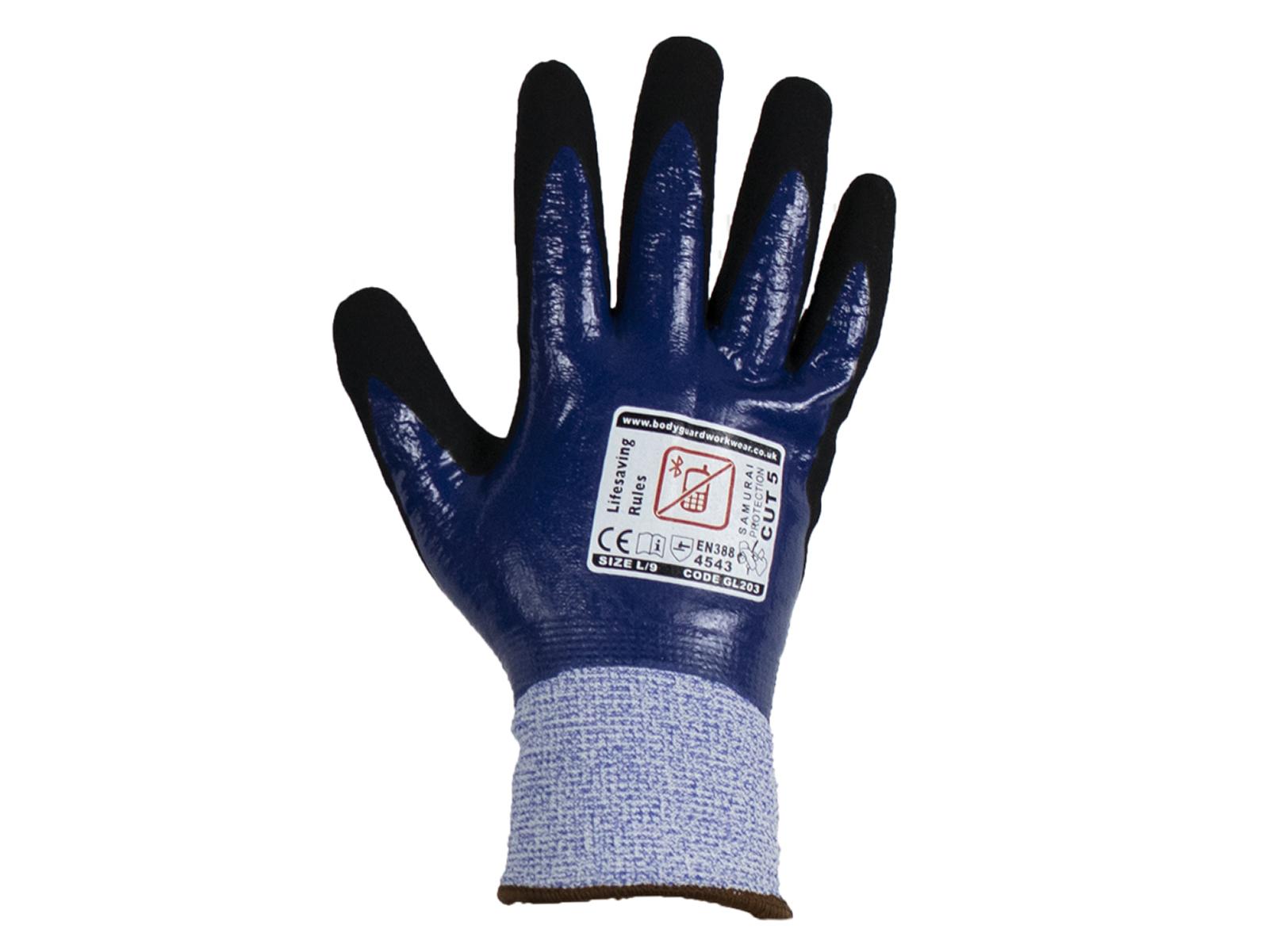 Samurai Thermo Wet Cut 5 Safety glove w/ Fleece Liner