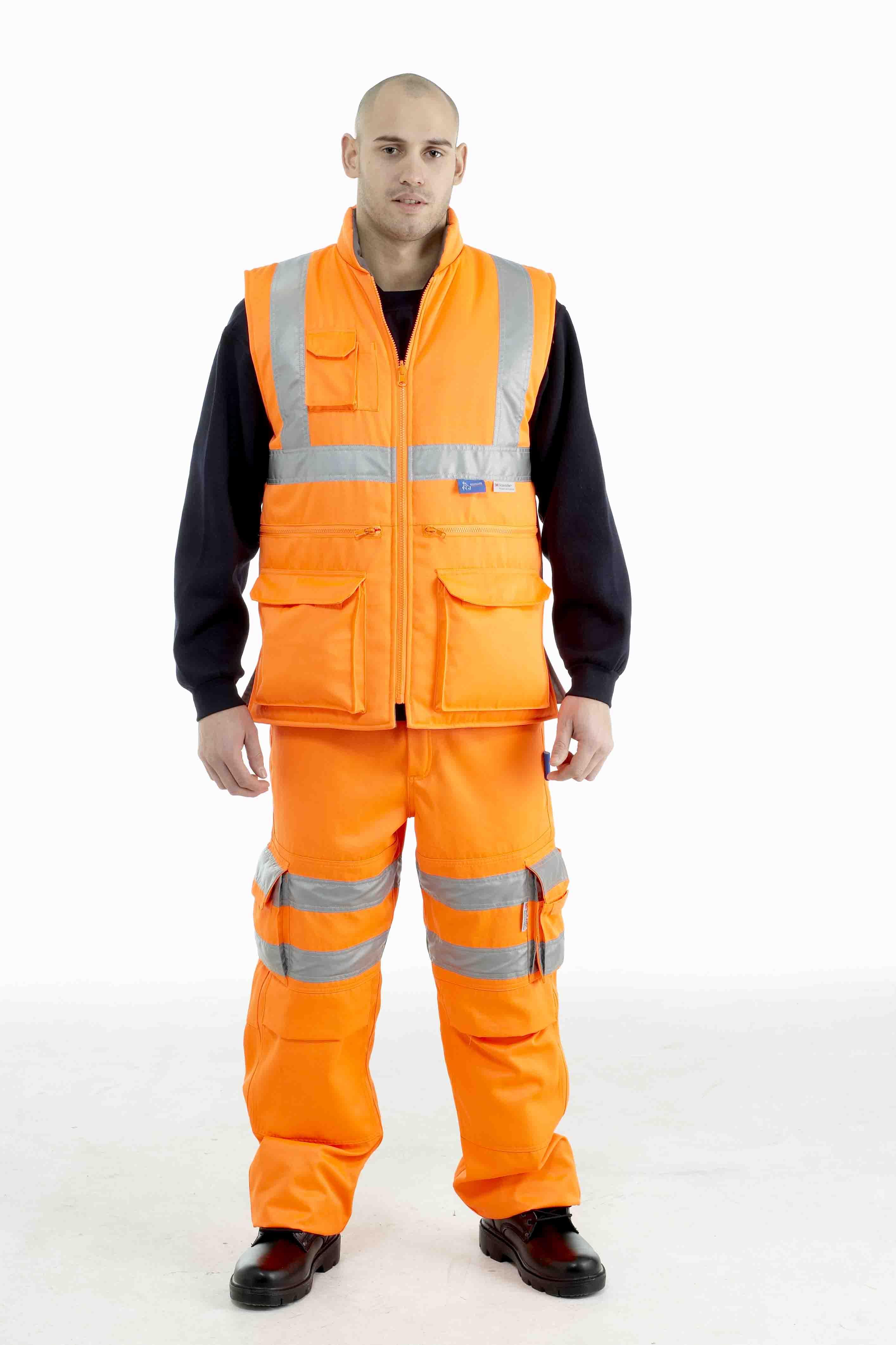 Bodyguard Rail Cargo Bodywarmer