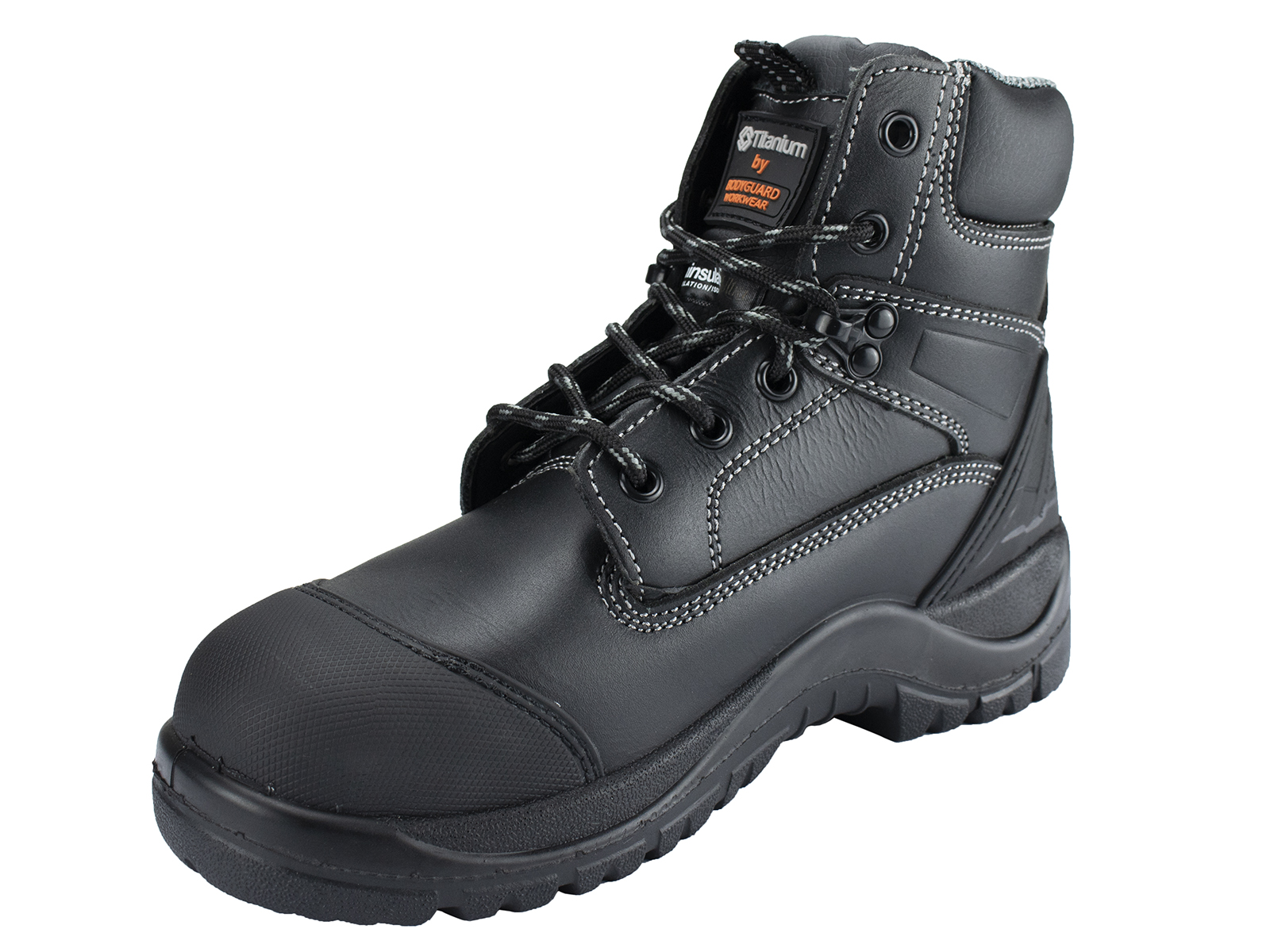 Titanium Leather Safety Boots w/ Thinsulate insulation throughout  - pair