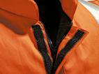 Flame Retardant High Vis Orange Bodywarmer w/ Thermal Padded Insulation