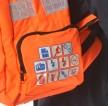 High Vis Backpack Work Rucksack w/ Anti-Entanglement System & Reflective Stripes -3