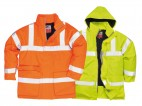 High Vis Anti Static Flame Retardant Jacket w/ Breathable fabric & Fully lined