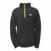 Cat Concord Fleece Pullover Sweatshirt w/ contrast zip, storm flap and beard guard