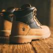 Scruffs Twister Safety Boot Tan w/ Steel Toe & Midsole