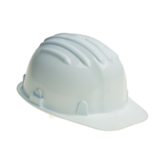 Standard Safety Helmet w/ sweatband & plastic harness
