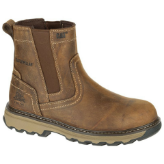 Caterpillar Pelton Safety Boot w/ Steel Toecap & Composite Midsole