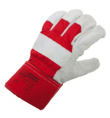 Heavy Rail Rigger Glove w/ Heavyweight cotton backing and safety cuff