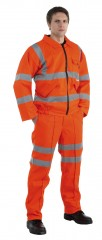 Hi Vis Flame Retardent Work Trousers
