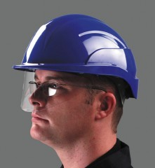 Centurion Vision Safety Helmet w/ a fully retractable visor