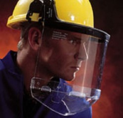 Centurion Polycarbonate Face Screen for use with Chin Guard