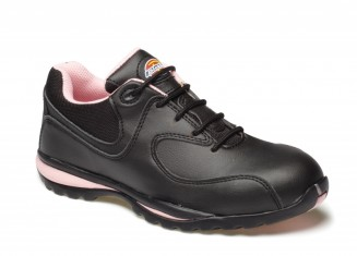 Dickies Ladies Ohio Safety Trainer w/ Breathable textile lining