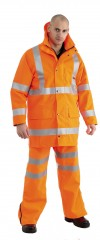 Gore-tex Hi Vis Rail Over Trouser