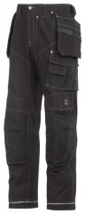 Snickers Trousers XTR 3rd Generation Work Cargo Trousers Black