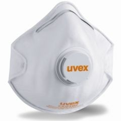 Uvex Silv-Air 2210 FFP2 Cup Shape Mask with Valve