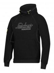 Snickers 2815 Logo Hoodie w/ Elastic drawstring & Kangaroo pocket