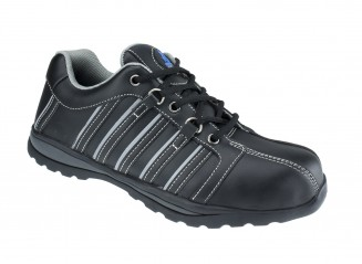 Speedster Leather Safety Trainer w/Toe Protection & Heel energy absorption