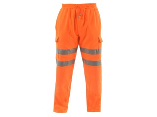 Rail Hi Vis Jogger w/ Fleece Backed Fabric