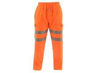 Rail Hi Vis Jogger w/ Fleece Backed Fabric & SBS Industrial Zip Fly