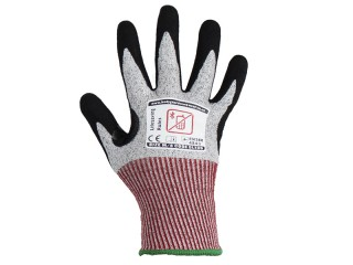 Samurai Protection Cut 5 Safety Gloves w/ excellent grip in wet, dry and oily