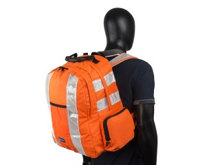 High Vis Rucksack w/ Anti-Entanglement System, 35 ltr