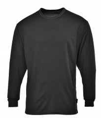High performance base layer long sleeve top w/ wicking fabric