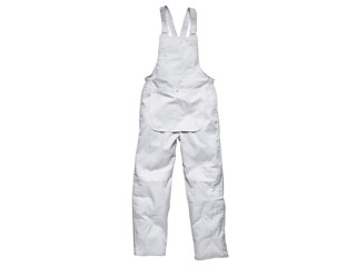 White Painters Bib and Brace w/ multiple pockets & Knee pad pockets
